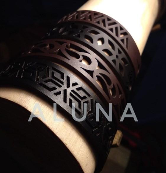 Aluna Bracelet (Gelang Kulit) ( Aluna Creativity )