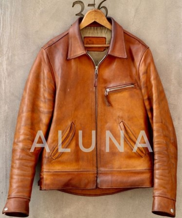 Leather Jacket ( Aluna Creativity )