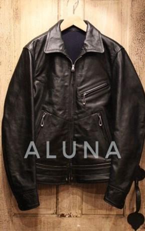 Leather Jacket ( Aluna Creativity )