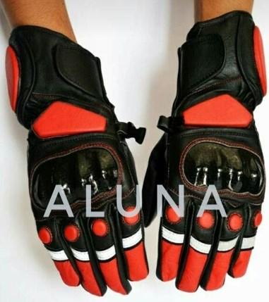 Leather Gloves ( Aluna Creativity )
